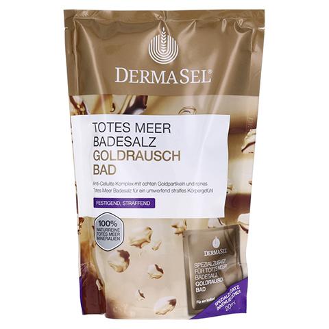 DERMASEL Totes Meer Badesalz+Gold EXKLUSIV 1 Packung