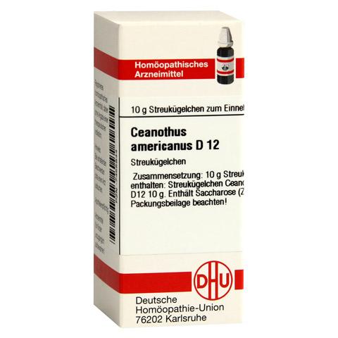 CEANOTHUS AMERICANUS D 12 Globuli 10 Gramm N1