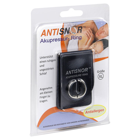 ANTISNOR Akupressurring Gr.XL 1 Stück