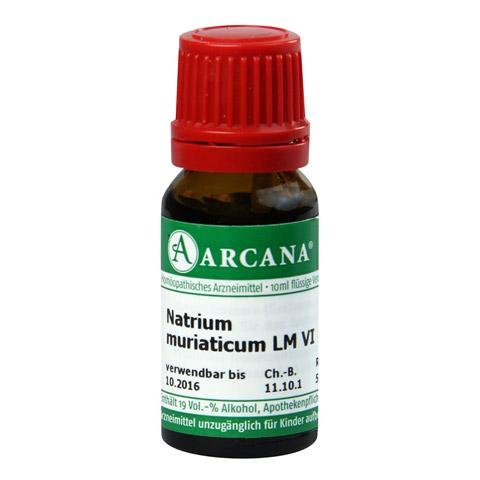 NATRIUM MURIATICUM LM 6 Dilution 10 Milliliter N1