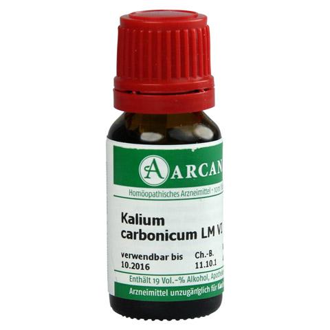 KALIUM CARBONICUM LM 6 Dilution 10 Milliliter N1