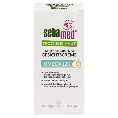 SEBAMED Trockene Haut Omega 12% Gesichtscreme 50 Milliliter