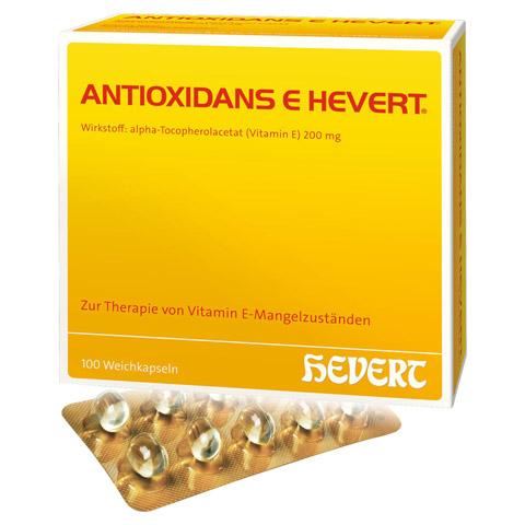ANTIOXIDANS E Hevert Weichkapseln 100 Stück N3