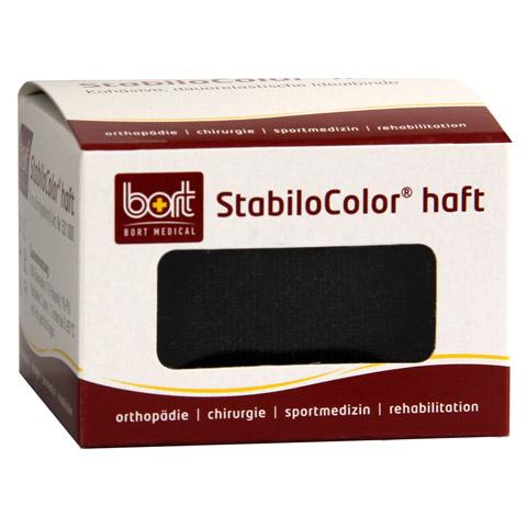 BORT StabiloColor haft Binde 4 cm schwarz 1 Stück