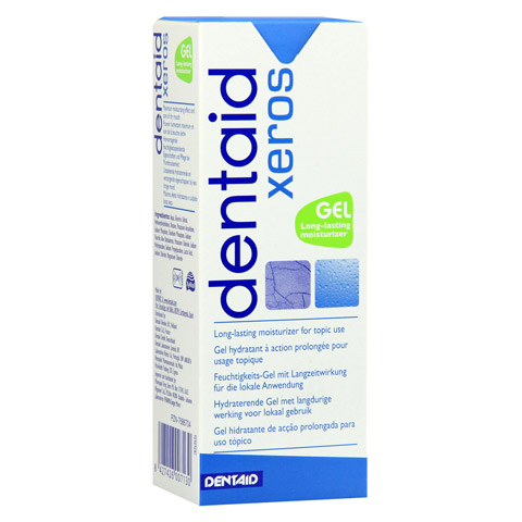 DENTAID xeros Feuchtigkeits-Gel pH nominal 6,0 50 Milliliter
