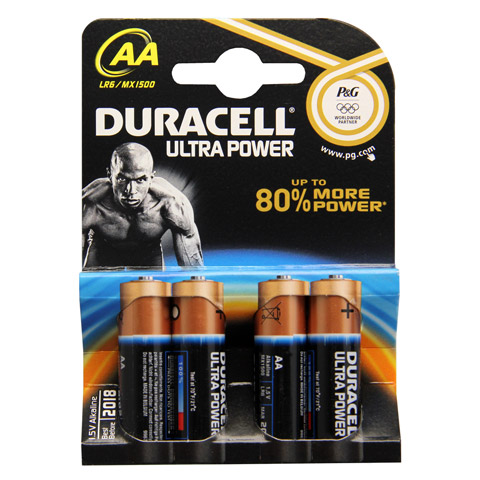 duracell ultra power aa mn1500 lr6 k4 m powerch 4 st ck online bestellen medpex versandapotheke. Black Bedroom Furniture Sets. Home Design Ideas