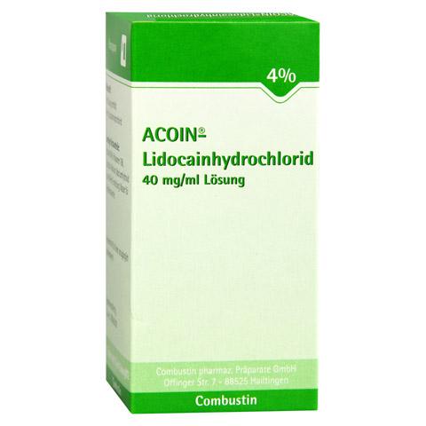 ACOIN-Lidocainhydrochlorid 40 mg/ml Lösung 50 Milliliter N1
