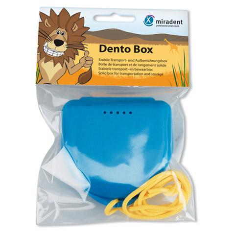 MIRADENT Zahnspangenbox Dento Box I blau 1 Stück