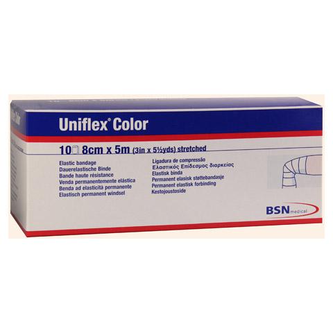 UNIFLEX Universal Binden 8 cmx5 m blau 10 Stück