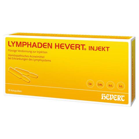 LYMPHADEN HEVERT injekt Ampullen 10 Stück N1