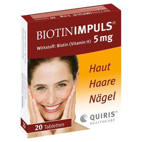 Biotin IMPULS 5mg 20 Stück N1