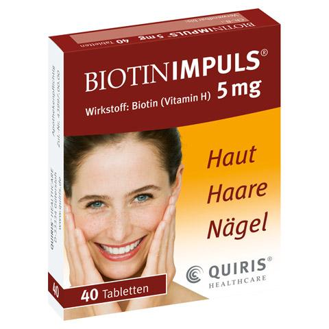 Biotin IMPULS 5mg 40 Stück