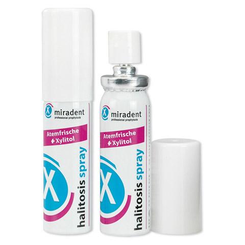 MIRADENT Mundpflegespray halitosis 15 Milliliter