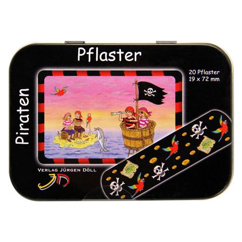 KINDERPFLASTER Piraten Dose 20 Stück