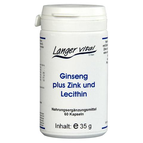 GINSENG 200 mg Lecithin Kapseln 60 Stück