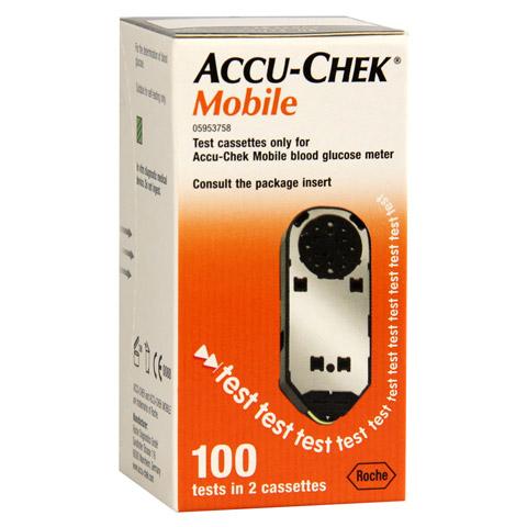 ACCU-CHEK Mobile Testkassette Plasma II 100 Stück