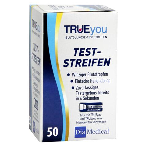 TRUEYOU Blutzucker Teststreifen 50 Stück