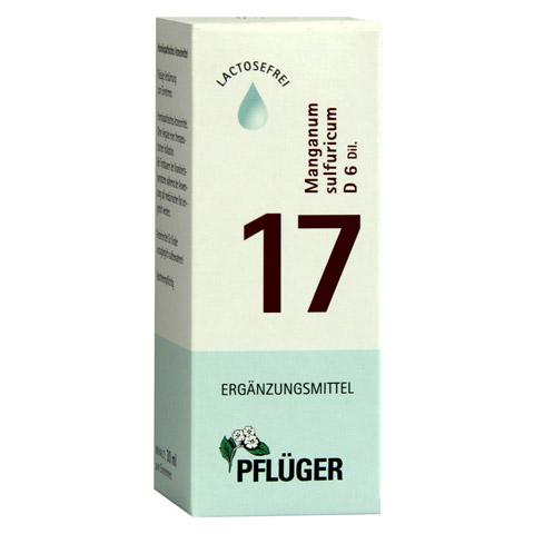 BIOCHEMIE Pflüger 17 Manganum sulfuricum D 6 Tro. 30 Milliliter N1