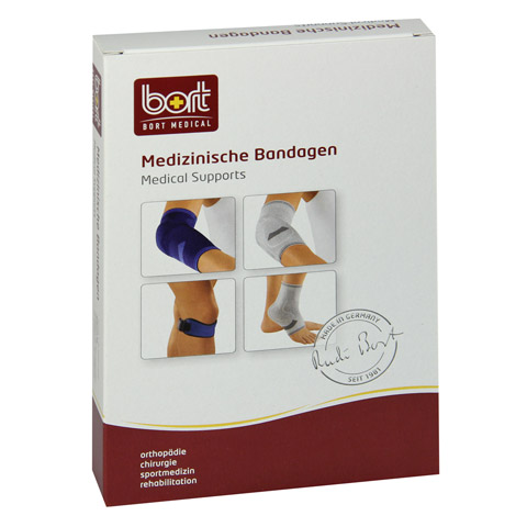 BORT KubiTal Ellenbogen-Polster-Bandage M blau 1 Stück