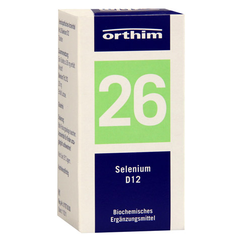 BIOCHEMIE Orthim 26 Selenium D 12 Tabletten 100 Stück N1