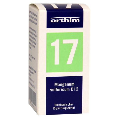 BIOCHEMIE Orthim 17 Manganum sulfuricum D 12 Tabl. 100 Stück N1