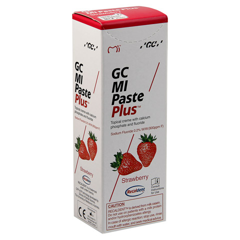 GC MI Paste Plus Erdbeere 40 Gramm
