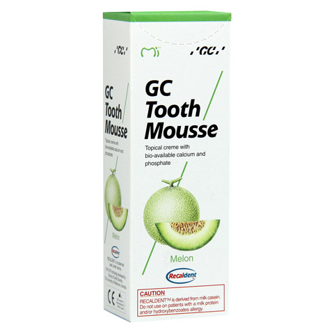 GC Tooth Mousse Melone 40 Gramm