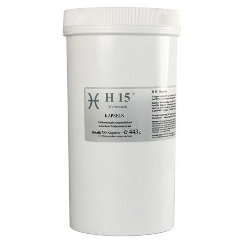 H 15 Weihrauchkapseln 350 mg 750 Stück