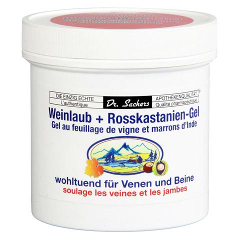 WEINLAUB+Rosskastanien-Gel 250 Milliliter