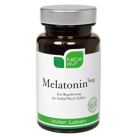 NICAPUR Melatonin 5 mg Kapseln 30 Stück