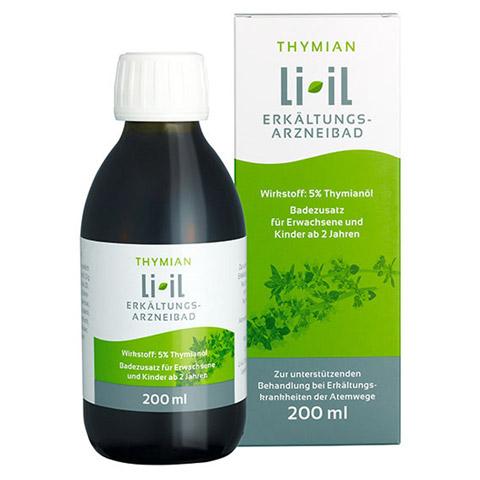 Thymian Li-iL Erkältungs-Arzneibad 5% 200 Milliliter