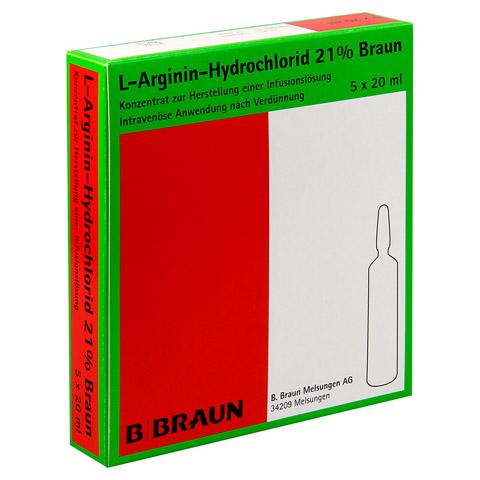 L-ARGININ-HYDROCHLORID 21% Elek.-Konz.Inf.-Ls 5x20 Milliliter N1