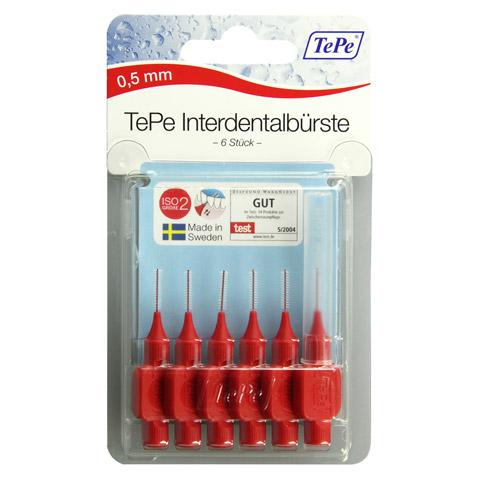 TEPE Interdentalbürste x-weich 0,5mm 6 Stück