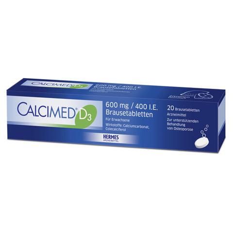 Calcimed D3 600mg/400 I.E. 20 Stück N1