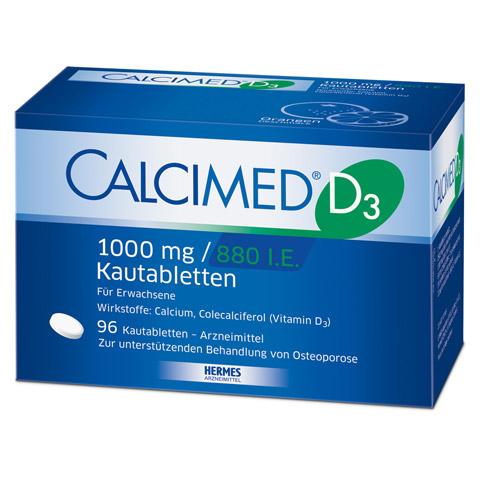 Calcimed D3 1000mg/880 I.E. 96 Stück