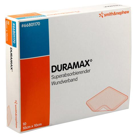 DURAMAX Wundverband 10x10 cm 10 Stück