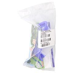 MICRODROP RF7 Maske Erwachsene blau transparent 1 Stück