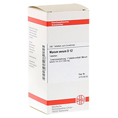MARUM VERUM D 12 Tabletten 200 Stück N2