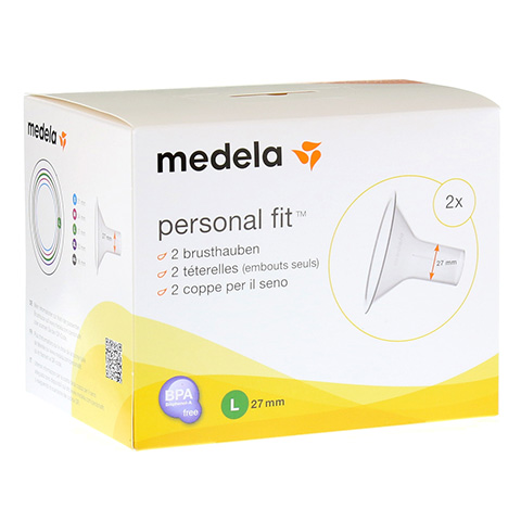 MEDELA Personal Fit Brusthaube Gr.L 2 St 1 Packung