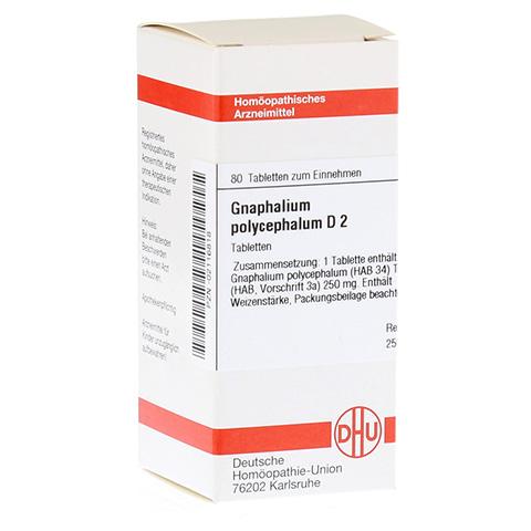 GNAPHALIUM POLYCEPHALUM D 2 Tabletten 80 Stück N1