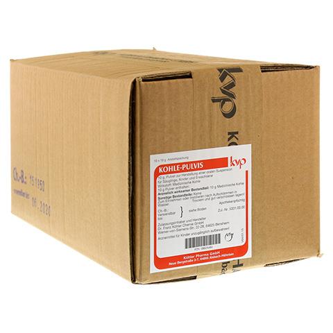 Kohle-Pulvis 10x10 Gramm N1