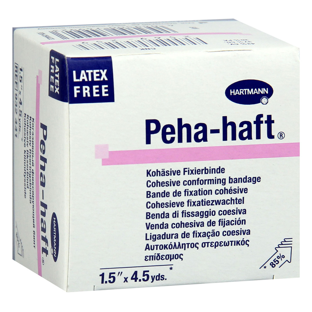 PEHA-HAFT Fixierbinde latexfrei 4 cmx4 m 1 Stück