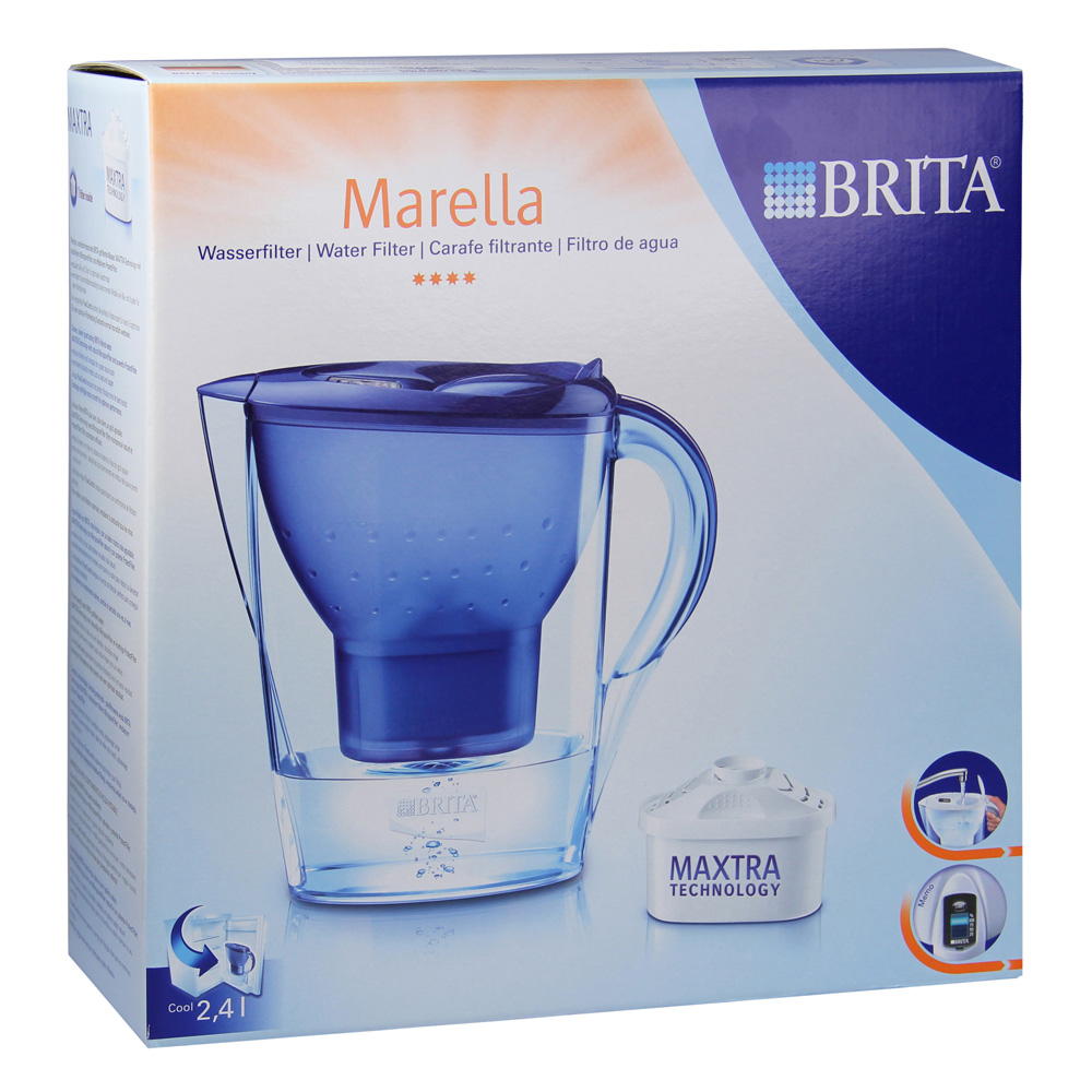 erfahrungen zu brita marella cool blau 1 st ck medpex versandapotheke. Black Bedroom Furniture Sets. Home Design Ideas