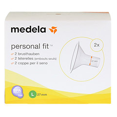 MEDELA Personal Fit Brusthaube Gr.L 2 St 1 Packung - Vorderseite