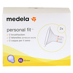MEDELA Personal Fit Brusthaube Gr.XL 2 St 1 Packung - Vorderseite