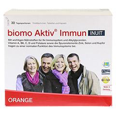BIOMO Aktiv Immun Inuit Trinkfl.30-Tagesport. 1 Packung - Vorderseite