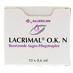 LACRIMAL O.K. N Augentropfen 10x0.6 Milliliter - Vorderseite