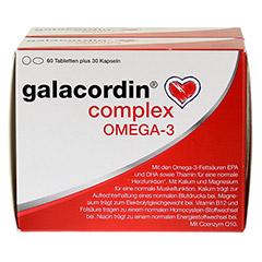 GALACORDIN complex Omega-3 Tabletten 120 Stück - Vorderseite