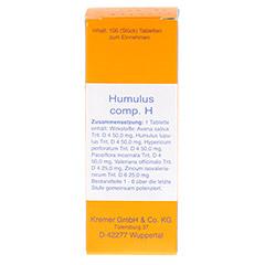 HUMULUS comp.H Tabletten 100 Stück N1 - Vorderseite