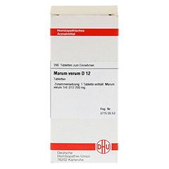 MARUM VERUM D 12 Tabletten 200 Stück N2 - Vorderseite